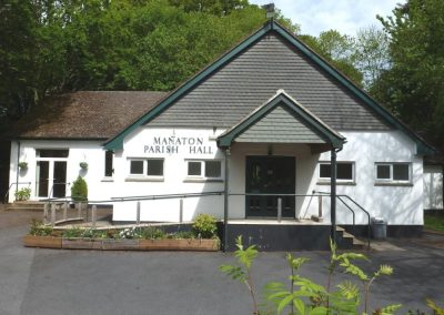 Manaton Village Hall Front